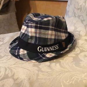 Plaid Guinness Fedora Top Hat